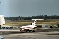 CC-CAG @ JFK - Boeing 727-116 of LAN Chile at Kennedy in the Summer of 1977. - by Peter Nicholson
