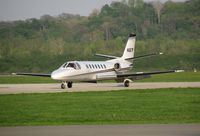 N567F @ KLUK - one of Macy's corporate jets on arrival - by Kevin Kuhn