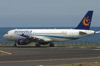 EC-JQP @ GCRR - Iberworld A320 at Arrecife