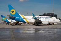UR-GAK @ VIE - Ukraine International Boeing 737-500 - by Dietmar Schreiber - VAP