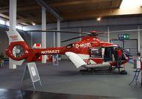 D-HDRL @ EDNY - Eurocopter EC 135P2 of the Deutsche Rettungsflugwacht EMS-Service at the AERO 2010, Friedrichshafen - by Ingo Warnecke