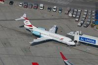 OE-LFK @ VIE - Austrian Arrows Fokker 70