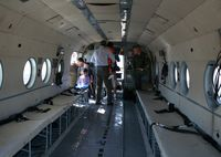 N172RU @ MCF - inside of MI-8