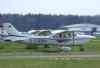 D-EWMH @ EDNY - Cessna 182S Skylane II at Friedrichshafen airport during the AERO 2010 - by Ingo Warnecke