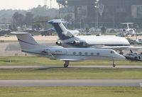 N17KJ @ DAB - Gulfstream II