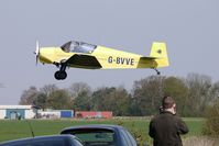 G-BVVE @ EGCL - at Fenland on a fine Spring day for the 2010 Vintage Aircraft Club Daffodil Fly-In - by Terry Fletcher