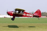 G-BSWG @ EGCL - at Fenland on a fine Spring day for the 2010 Vintage Aircraft Club Daffodil Fly-In
