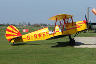 G-BWEF @ EGCL - at Fenland on a fine Spring day for the 2010 Vintage Aircraft Club Daffodil Fly-In
