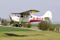 G-BVCS @ EGCL - at Fenland on a fine Spring day for the 2010 Vintage Aircraft Club Daffodil Fly-In