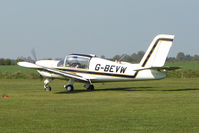 G-BEVW @ EGCL - at Fenland on a fine Spring day for the 2010 Vintage Aircraft Club Daffodil Fly-In