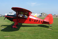 G-APZX @ EGCL - at Fenland on a fine Spring day for the 2010 Vintage Aircraft Club Daffodil Fly-In