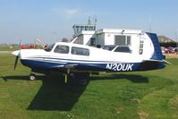 N20UK @ EGCL - at Fenland on a fine Spring day for the 2010 Vintage Aircraft Club Daffodil Fly-In