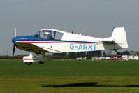 G-ARXT @ EGCL - at Fenland on a fine Spring day for the 2010 Vintage Aircraft Club Daffodil Fly-In