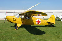 N203SA @ EGCL - at Fenland on a fine Spring day for the 2010 Vintage Aircraft Club Daffodil Fly-In