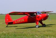 G-BRSW @ EGCL - at Fenland on a fine Spring day for the 2010 Vintage Aircraft Club Daffodil Fly-In