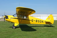 G-BSDK @ EGCL - at Fenland on a fine Spring day for the 2010 Vintage Aircraft Club Daffodil Fly-In