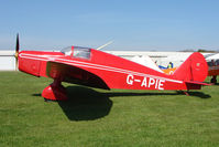 G-APIE @ EGCL - at Fenland on a fine Spring day for the 2010 Vintage Aircraft Club Daffodil Fly-In