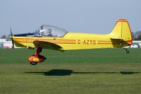 G-AZYS @ EGCL - at Fenland on a fine Spring day for the 2010 Vintage Aircraft Club Daffodil Fly-In