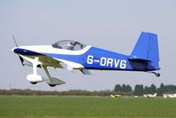 G-ORVG @ EGCL - at Fenland on a fine Spring day for the 2010 Vintage Aircraft Club Daffodil Fly-In