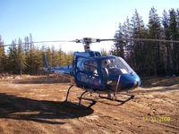 C-GWMO - Heli Explore inc waiting for two prospectors in Québec - by Heli Explore Inc