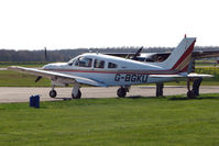 G-BGKU @ EGSF - at Peterborough Conington - by Terry Fletcher