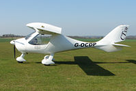 G-OCDP @ EGSP - on a pleasant day at Peterborough Sibson