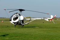 G-RHCB @ EGBG - 1996 Schweizer Aircraft Corporation SCHWEIZER 269C-1, at Leicester