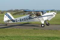 G-BVOX @ EGBG - 1991 Taylorcraft Aviation Corporation TAYLORCRAFT F-22 at Leicester