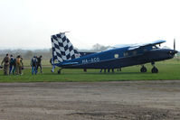 HA-ACO - Dornier prepares to load the first skydivers of the day at Hibaldstow