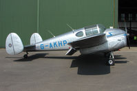 G-AKHP - 1947 Miles Aircraft Ltd MILES M65 GEMINI 1A, c/n: 6519 at North Cotes Airfield