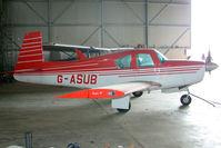 G-ASUB - 1964 Mooney Aircraft Corporation MOONEY M20E at North Cotes Airfield
