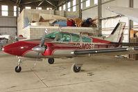 G-MOSS - 1968 Beech BEECH D55 at North Cotes Airfield