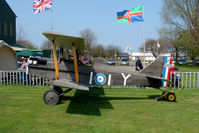 G-INNY - 1983 Ordish Rm REPLICA SE5A at North Cotes Airfield