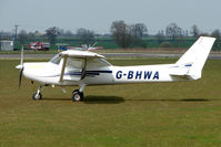G-BHWA @ EGNW - Cessna at Wickenby