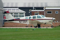 N7251Y @ EGNF - 1985 Beech A36 at Netherthorpe