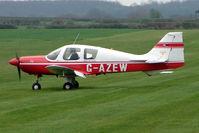 G-AZEW @ EGNF - 1969 Beagle Aircraft Ltd BEAGLE B121 SERIES 2 at Netherthorpe