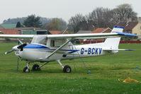 G-BCKV @ EGNF - 1974 Reims Aviation Sa REIMS CESSNA FRA150L at Netherthorpe