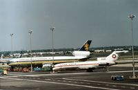 G-BEBM @ JFK - DC-10-30 of British Caledonian Airways parked at Kennedy in the Summer of 1977. - by Peter Nicholson