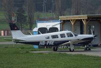 HB-PRE @ LSZR - Piper PA-32R-300 Cherokee Lance at St.Gallen-Altenrhein airfield
