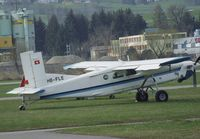 HB-FLE @ LSZR - Pilatus PC-6/B2-H4 at St.Gallen-Altenrhein airfield