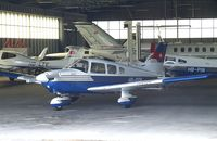 HB-PGM @ LSZR - Piper PA-28-181 Archer II at St.Gallen-Altenrhein airfield