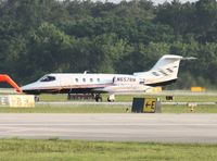 N657BM @ DAB - Lear 25D believed to possibly belong to a NASCAR driver