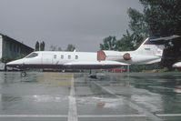 OE-GAV @ VIE - Learjet 35