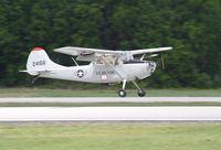 N60564 @ KLAL - Cessna 305F - by Mark Pasqualino