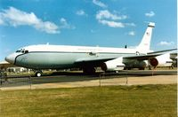 61-2667 @ MHZ - WC-135B Constant Phoenix weather aircraft of 10th Airborne Command & Control Squadron on display at the 1990 RAF Mildenhall Air Fete. - by Peter Nicholson