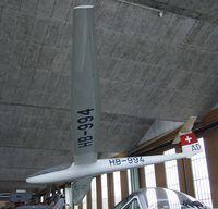 HB-994 @ LSZR - FFA Diamant 16.5 at the Fliegermuseum Altenrhein