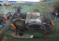 V-68 @ LSZR - Sud-Est SE.3130 Alouette II of the Swiss air force at the Fliegermuseum Altenrhein