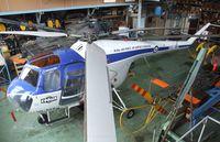 HB-RXB @ LSZR - Bristol B171B Sycamore HR Mk.52 at the Fliegermuseum Altenrhein