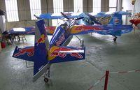 N540TS @ LSZR - Edge 540-TK at the Fliegermuseum Altenrhein