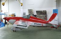 N9750N @ LSZR - Extra EA-230 at the Fliegermuseum Altenrhein